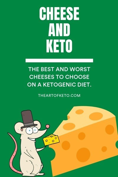 Can you eat cheese on keto pinterest cover