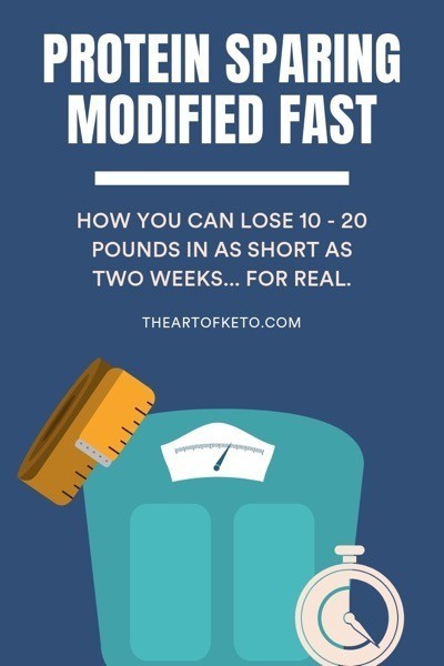 Protein sparing modified fast pinterest cover