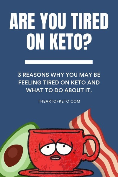 Why am i tired on keto diet pinterest cover