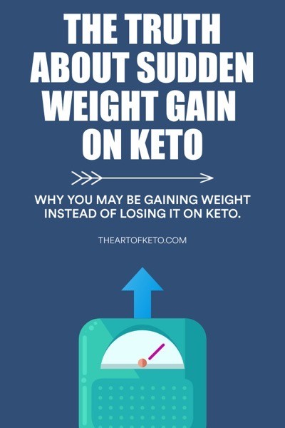 SUDDEN WEIGHT GAIN ON KETO PINTEREST