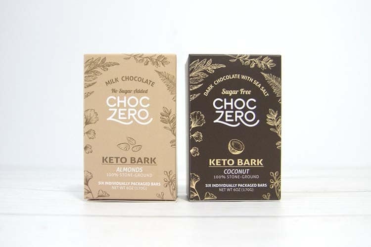 Choczero keto chocolate