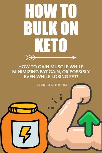 How to bulk on keto pinterest