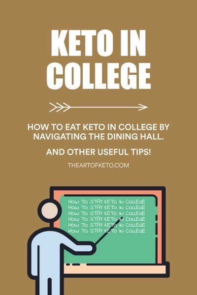 How to eat keto in college pinterest