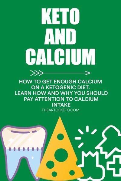 Keto and calcium pinterest