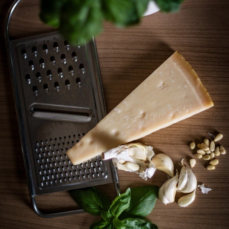 Parmesan calcium keto