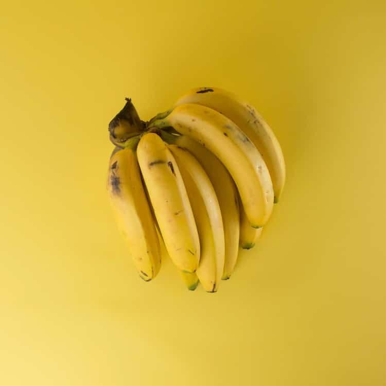 ripe banana pre workout before a run on keto