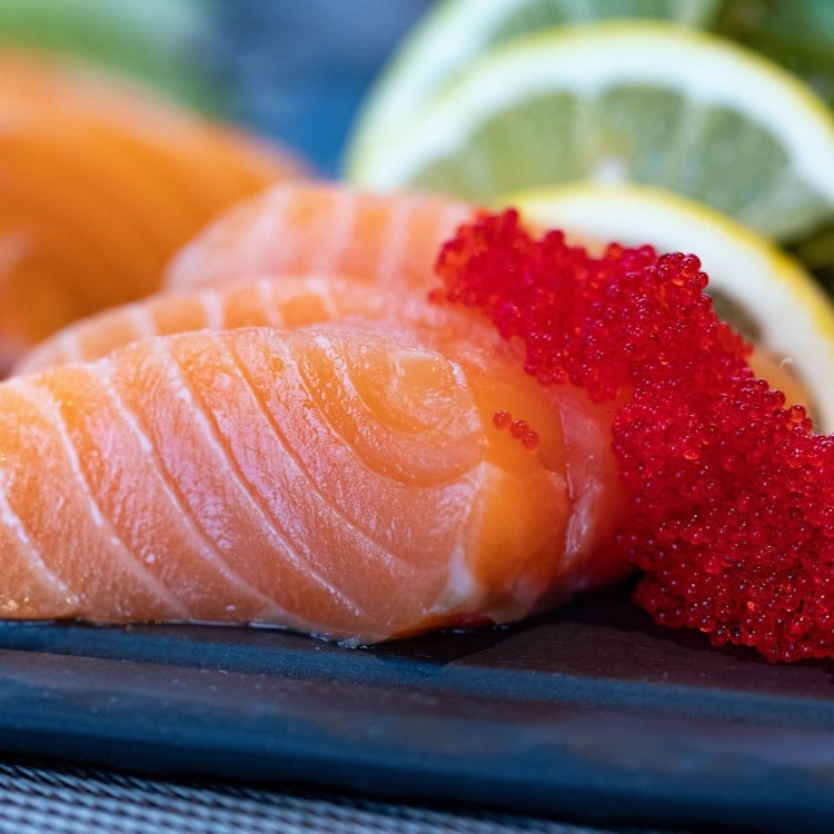 Sick on keto eat salmon and roe