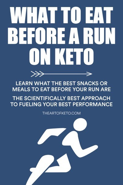 What to eat before a run on keto pinterest
