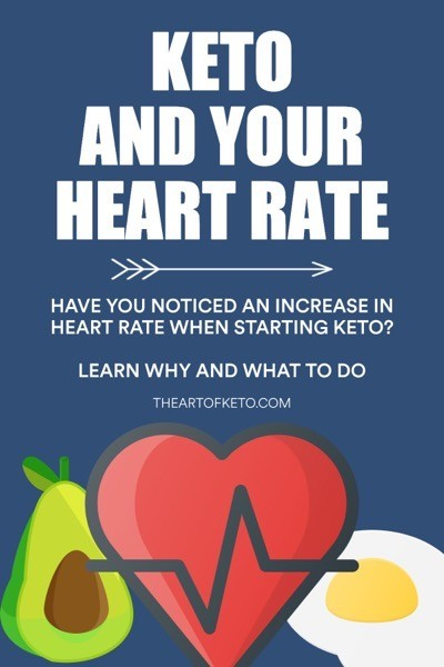 why is my heart rate higher on keto pinterest cover