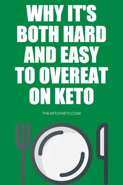 Can I OVEREAT on keto pinterest