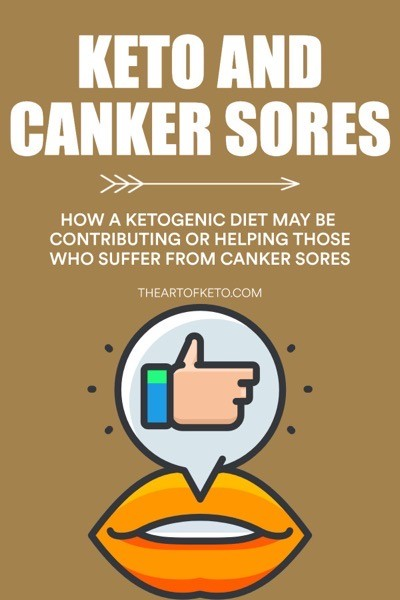 Can keto cause canker sores