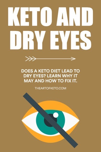 Does keto cause dry eye