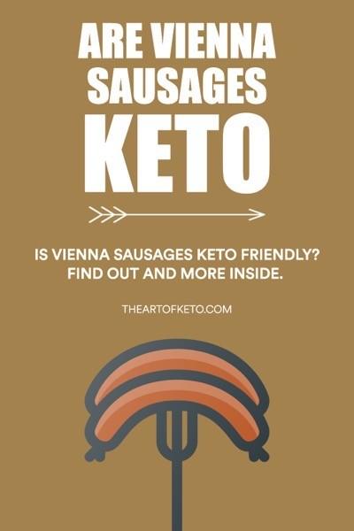 ARE VIENNA SAUSAGES KETO FRIENDLY PINTEREST