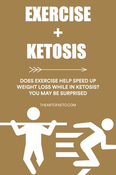 DOES EXERCISE SPEED UP WEIGHT LOSS IN KETOSIS PINTEREST COVER