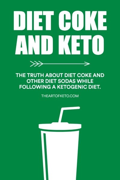 Can i drink diet coke on keto pinterest cover