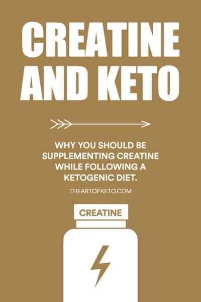 Can you take creatine on keto pinterest cover
