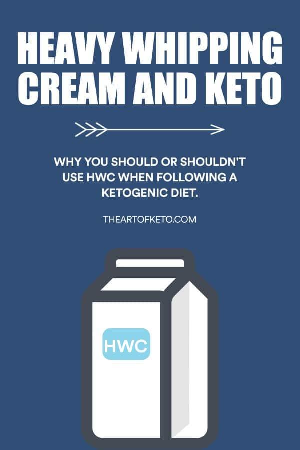Heavy whipping cream hwc on keto