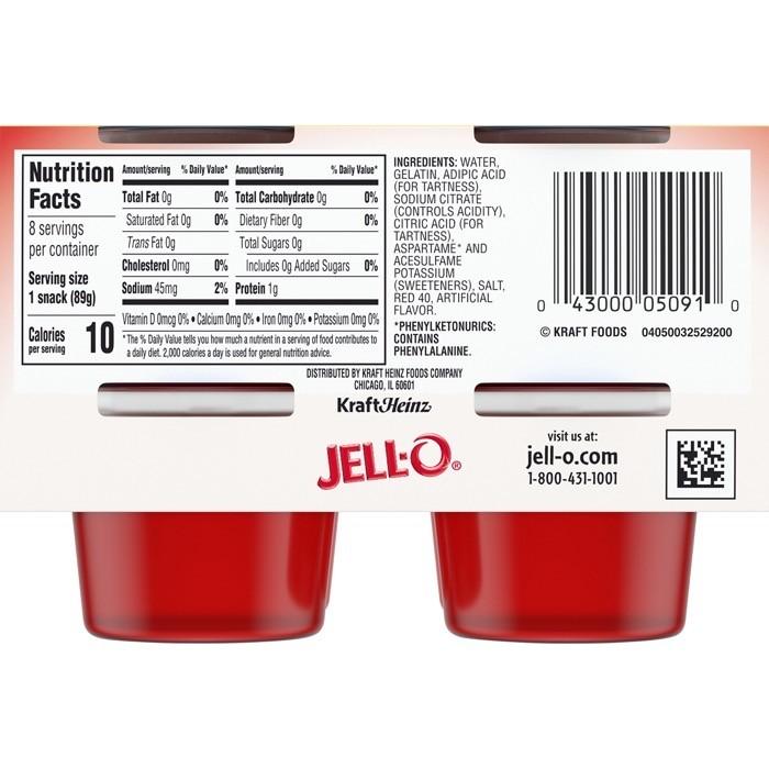 Sugar free jello keto friendly
