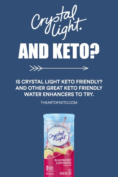IS CRYSTAL LIGHT KETO FRIENDLY PINTEREST
