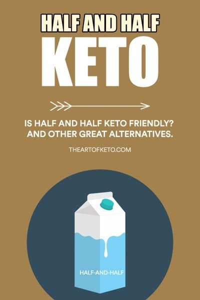 IS HALF AND HALF KETO FRIENDLY PINTEREST