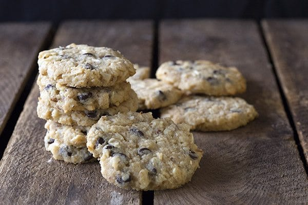 Oatmeal Chocolate Chip Cookies keto friendly