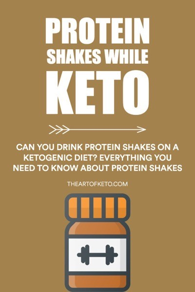 Can i drink protein shakes on keto pinterest