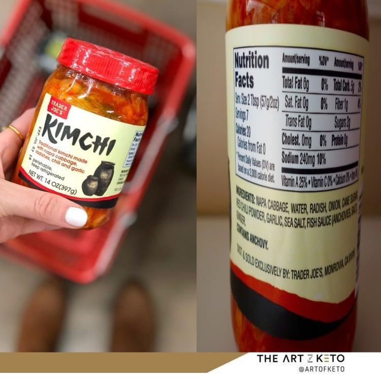 Can i eat kimchi on keto