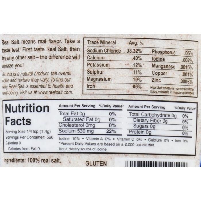 Crave salt on keto redmond real salt label