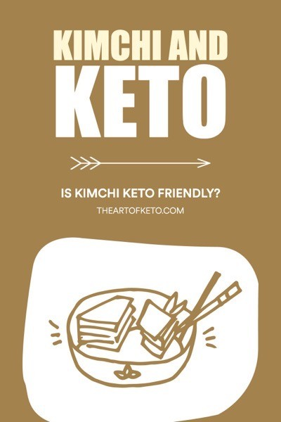 Is kimchi keto friendly pinterest cover