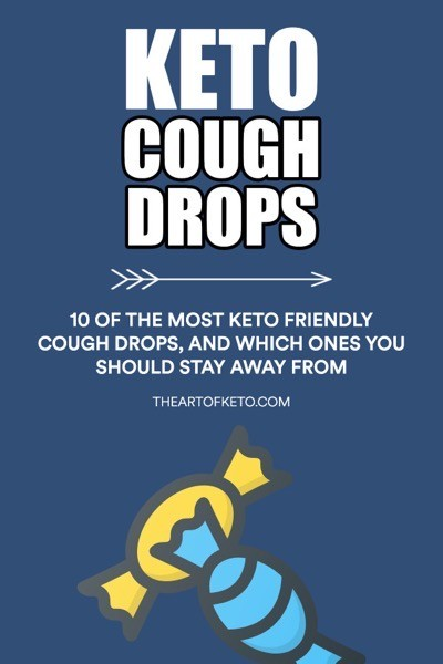 Keto friendly cough drops pinterest