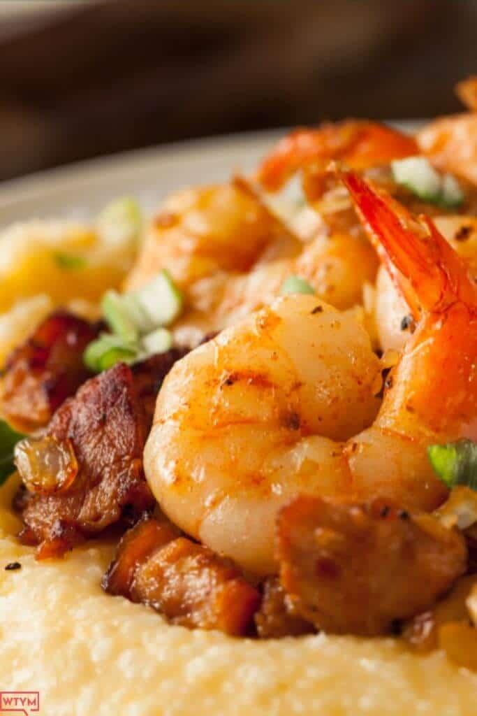 Keto friendly shrimp and grits