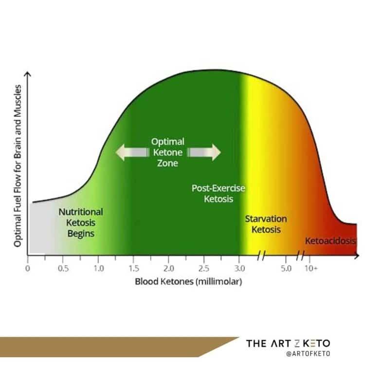 Keto vs fat adapted keto zone
