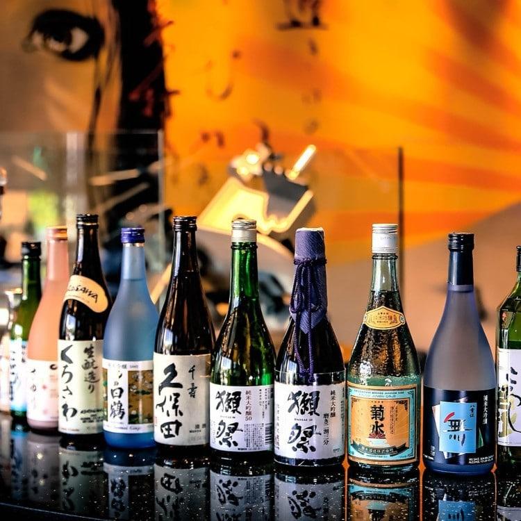 Sake bottles keto friendly