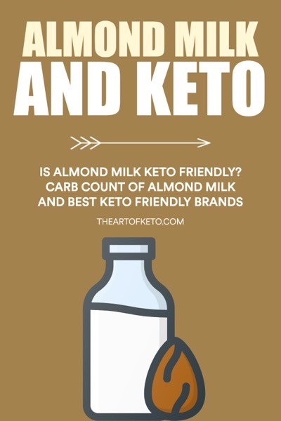 IS ALMOND MILK KETO FRIENDLY PINTEREST