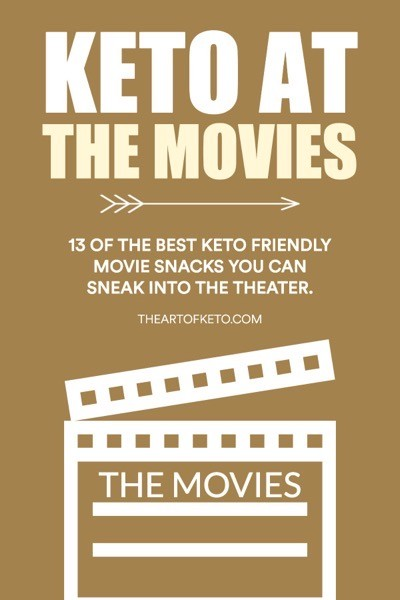 Keto movie snacks pinterest