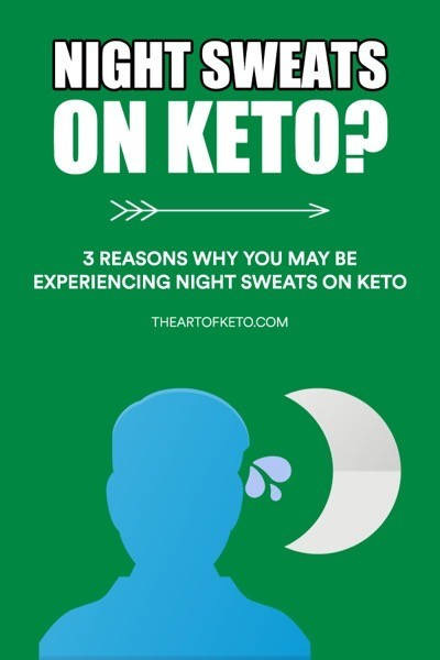 Keto night sweats pinterest