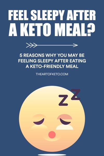 Sleepy after a meal on keto pinterest