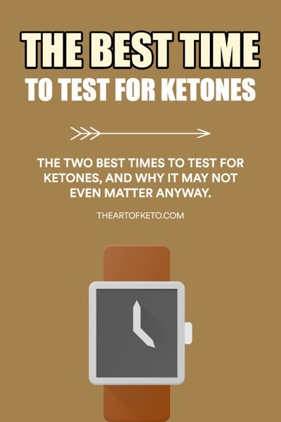 Whens the best time to test for ketones pinterest