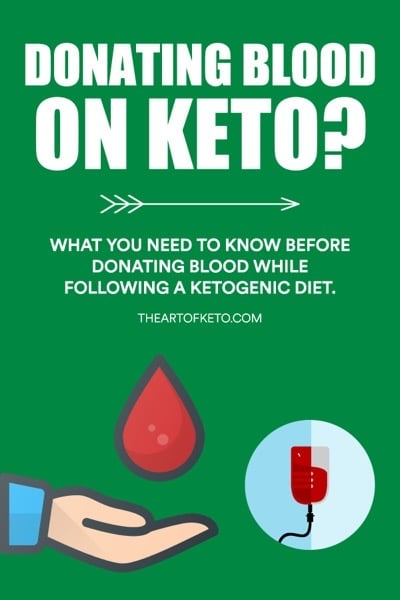 CAN YOU DONATE BLOOD ON KETO PINTEREST