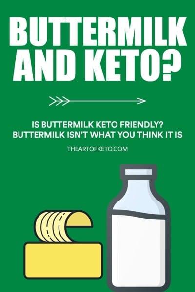 Is buttermilk keto friendly pinterest cover