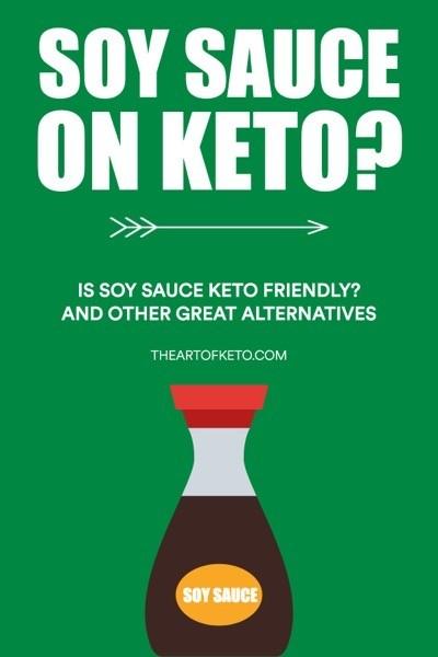 Is soy sauce keto friendly pinterest