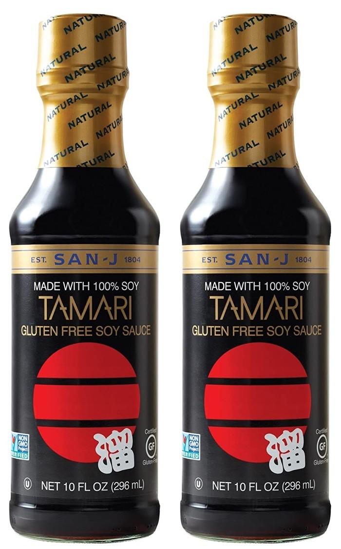 Tamari keto and gluten free soy sauce