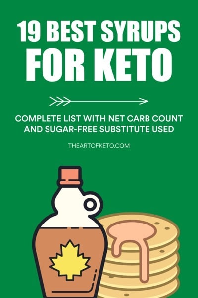Best syrups for keto